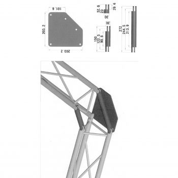Structure d'Angle - M 1603