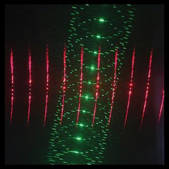 Laser multipoints à effets 3D 150MW RG