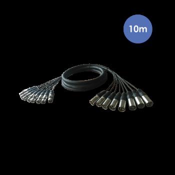 Octopaire XLR Mâle / XLR Femelle 10m