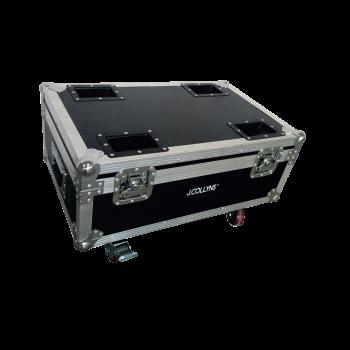 Flight case lumière vide pour projecteurs MOVECOLOR