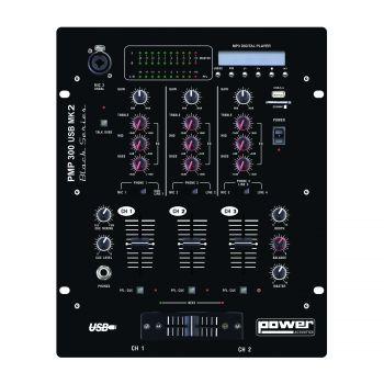 Mixer 10 entrées avec USB player