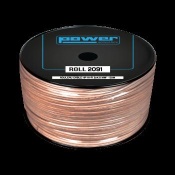 Rouleau Câble HP HIFI 2 x 1,1mm² - 50m