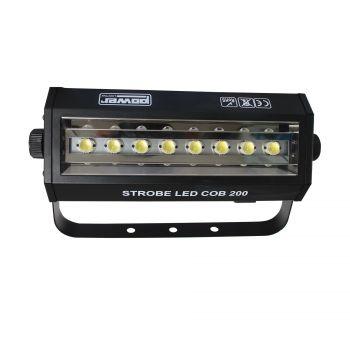 Stroboscope 200W 8 LEDs Blanches