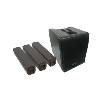 Système amplifié de type colonne 500W RMS