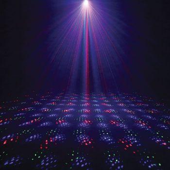 Laser multipoints d'extérieur 250MW RGB