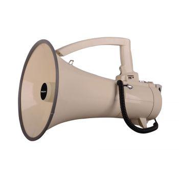 Megaphone 45W avec combiné et slot MP3