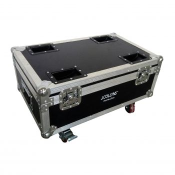 Pack 6 x MOVECOLOR WHITE + Flight Case