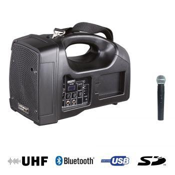 Sono Portable + USB + 1 Micro Main UHF + Bluetooth