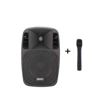 Sono portable 8'' sur batterie + 1 micro main VHF