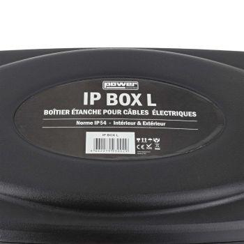 Boîtier large IP54 pour câbles électriques