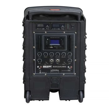 Sono portable MP3+USB+2 micros main UHF