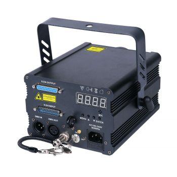 Laser à animations Rouge, Vert, Bleu 1000 MW