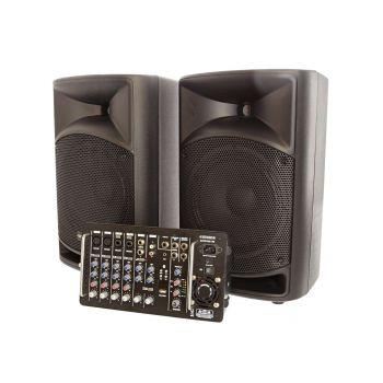 Système amplifié avec mixer 500W RMS