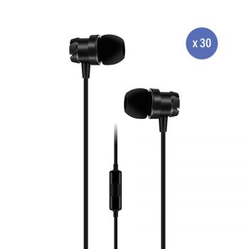 pack 30 casques intra auriculaire