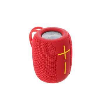 Enceinte Nomade Bluetooth Compacte - Couleur Rouge