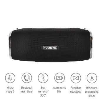 Enceinte nomade Bluetooth
