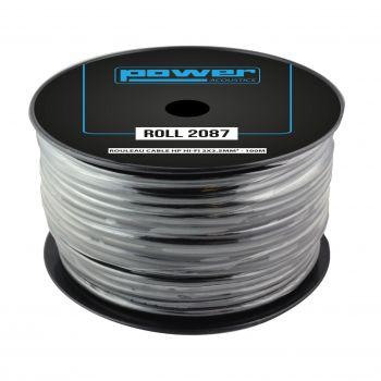 Rouleau Câble HP HI-FI 2x2.5mm² - 100m