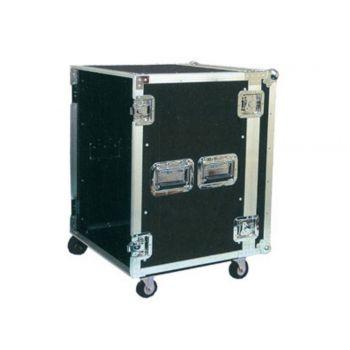 Flight Case 12U avec roulettes - FC 12