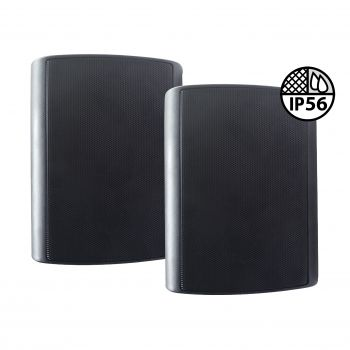 Enceinte extérieure noire 80W - Livré par paire